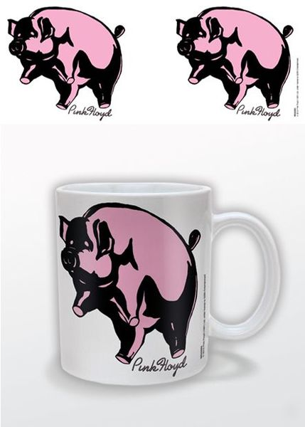 Pink Floyd Flying Pigs Mug