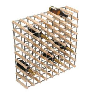 RTA 72 Bottle Natural Pine Wine Rack Kit