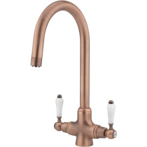 Tre Mercati Little Venice Old Copper Mono Sink Mixer Tap